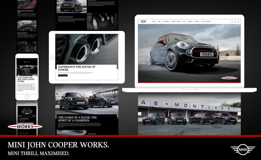 Mini John Cooper Works Neue Brandpage Vorgestellt Meinautode