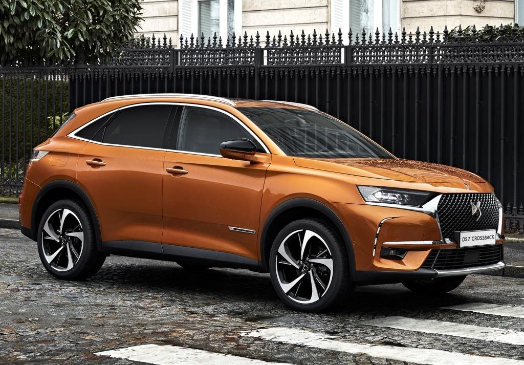 ds 7 crossback premiere und preise des suv. Black Bedroom Furniture Sets. Home Design Ideas