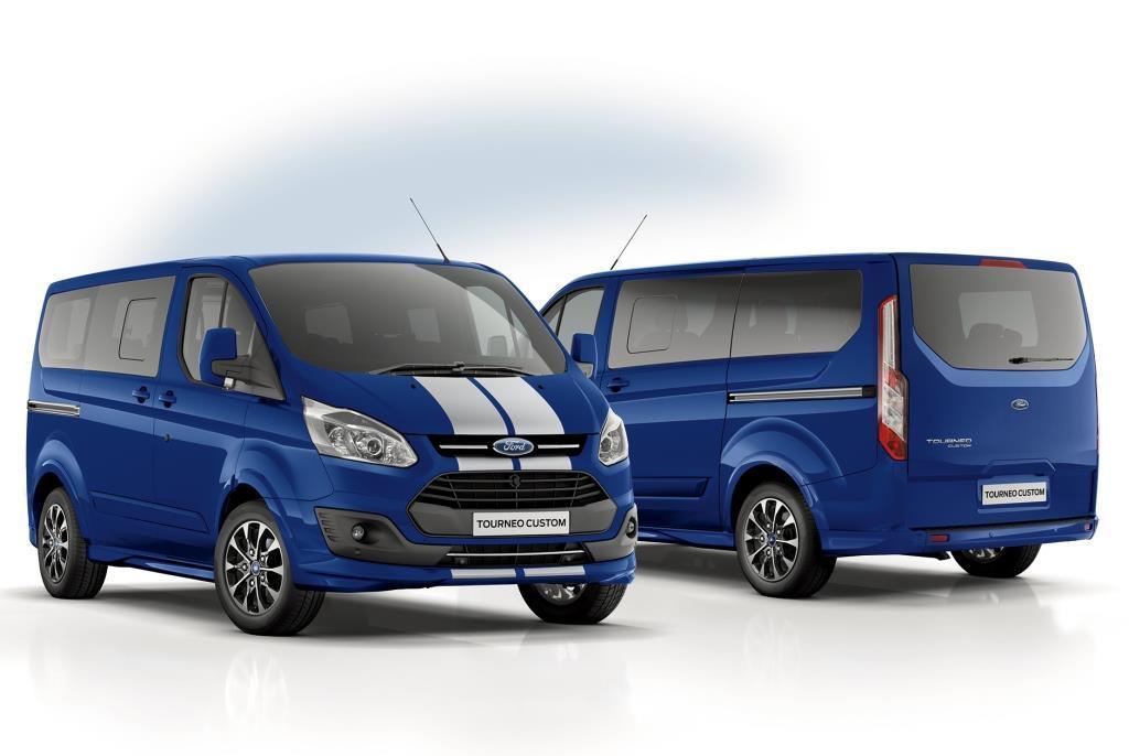 2017 Ford Transit Custom Sport >> Ford Transit und Tourneo: Neue Custom-Varianten - MeinAuto.de