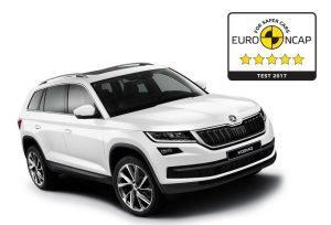 Euro NCAP Crashtest: Skoda Kodiaq, Mini Countryman, Nissan Micra und Suzuki Swift