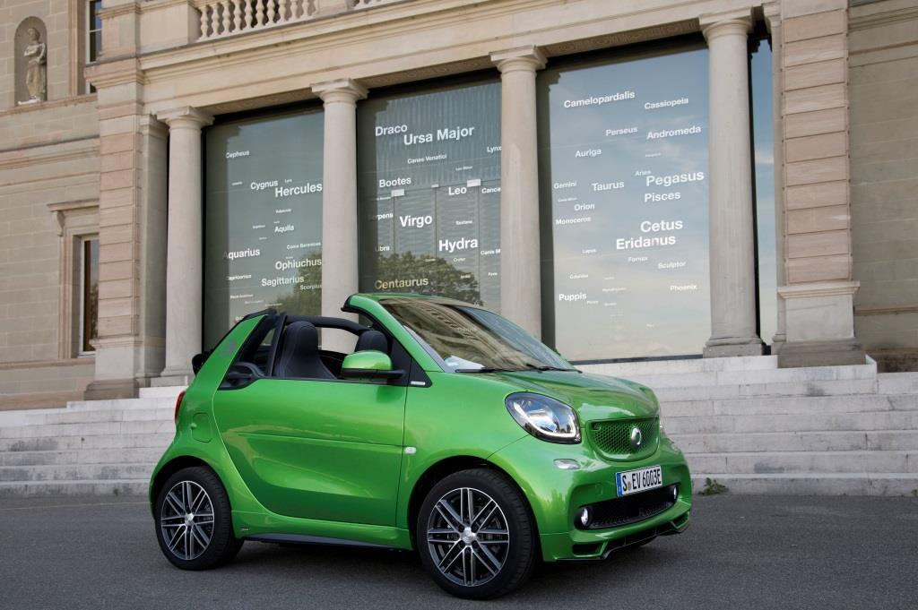 smart fortwo forfour electric drive im test 2017 ein. Black Bedroom Furniture Sets. Home Design Ideas