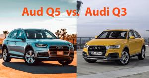 Audi Q3 vs. Q5: Lohnt sich das größere SUV?