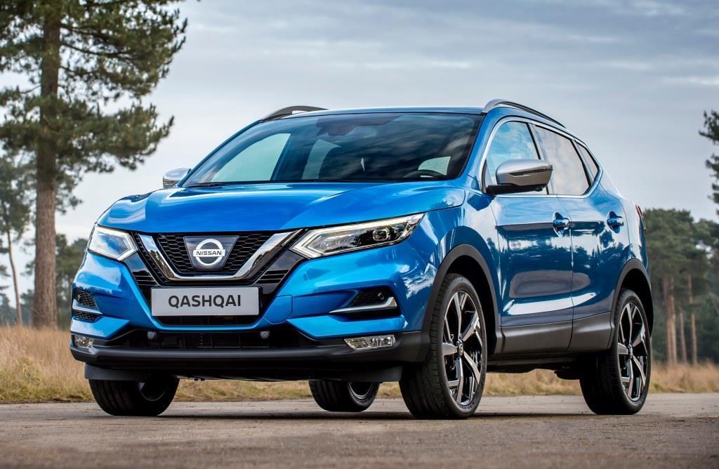 Nissan qashqai im test 2017 2018 modellpflege in for Nissan farben qashqai