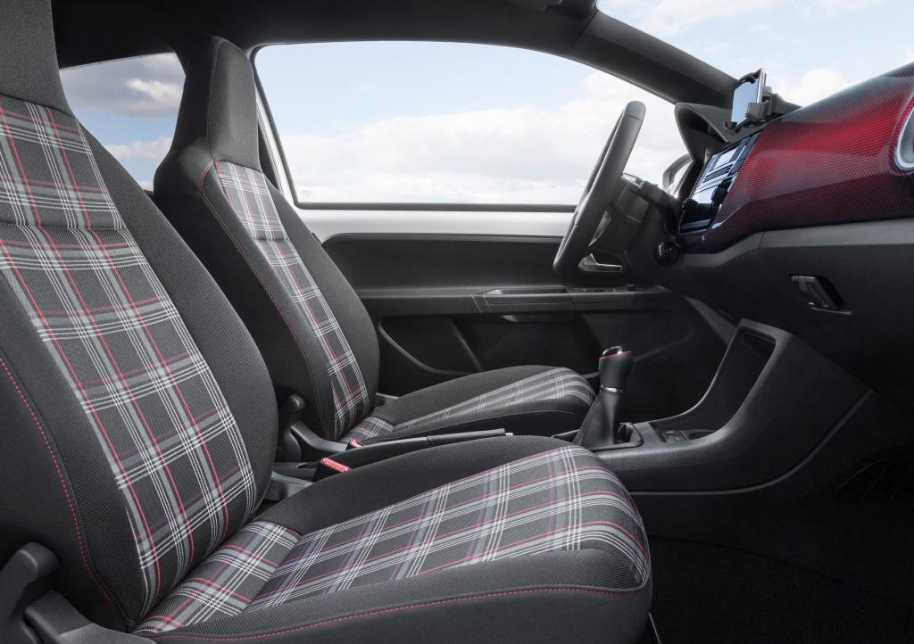 vw up gti im test erster up gti ist eine hommage an den. Black Bedroom Furniture Sets. Home Design Ideas