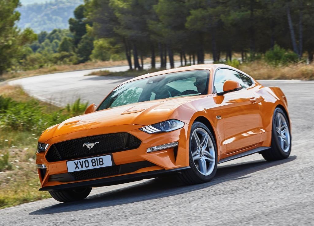Ford Mustang (2018): Bilder des neuen Modells - MeinAuto.de