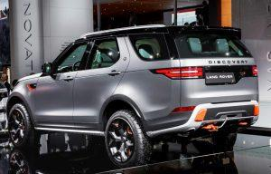 Land Rover Discovery SVX: Weltpremiere auf der IAA 2017