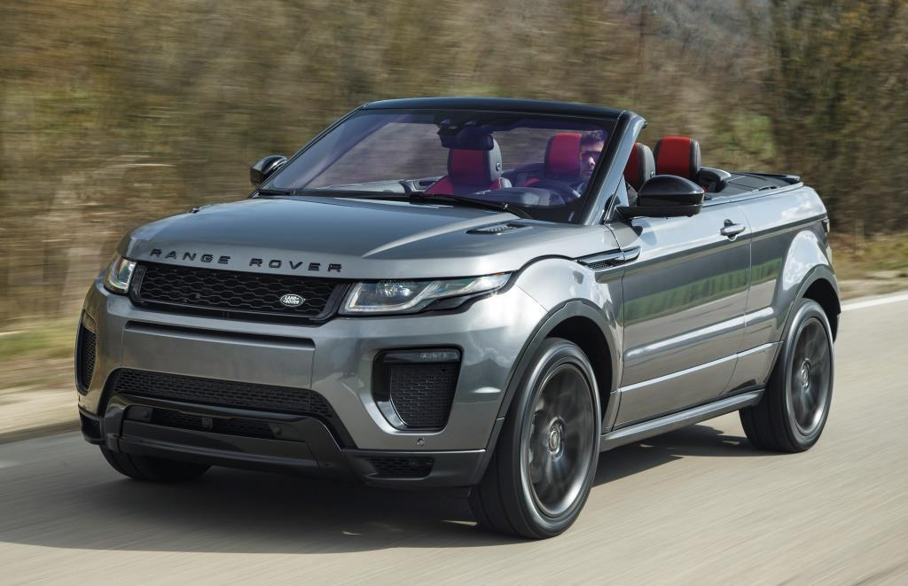 range rover evoque cabriolet im test 2017 da geht einem. Black Bedroom Furniture Sets. Home Design Ideas