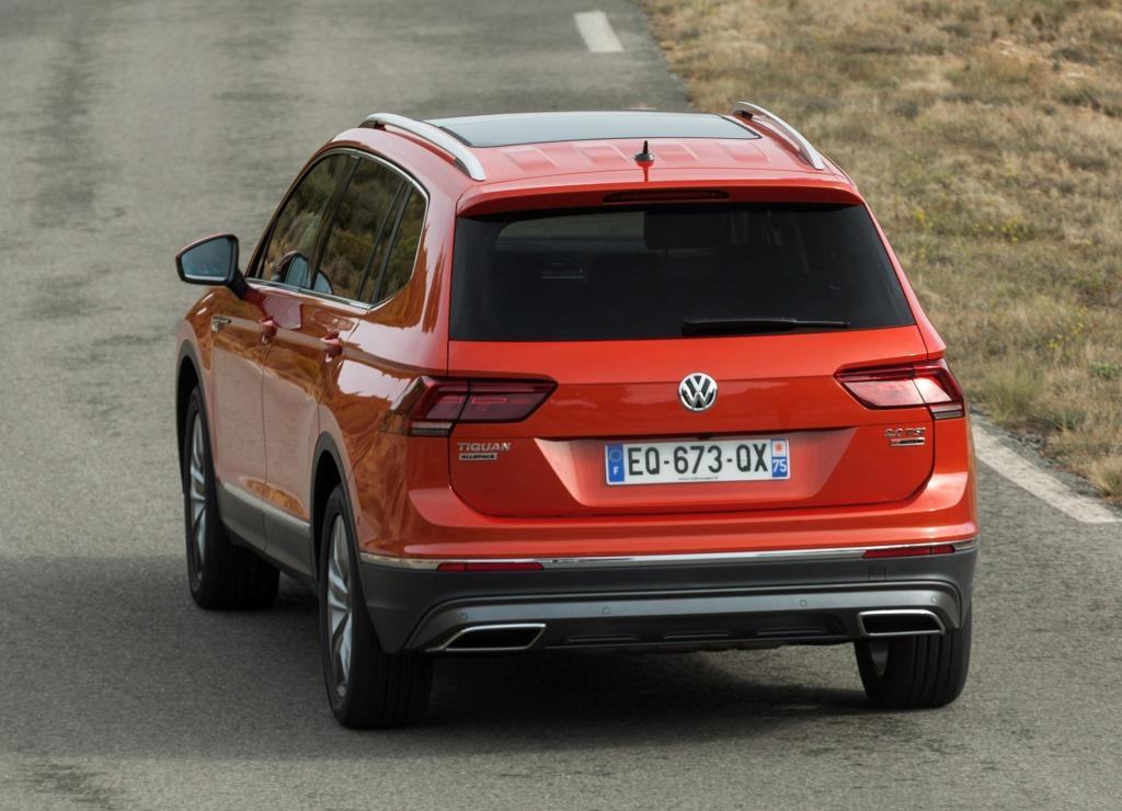 vw tiguan allspace im test 2017 ein raumwunder. Black Bedroom Furniture Sets. Home Design Ideas