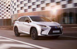 Lexus RX (2018): Premium-Crossover mit neuer Sport Line