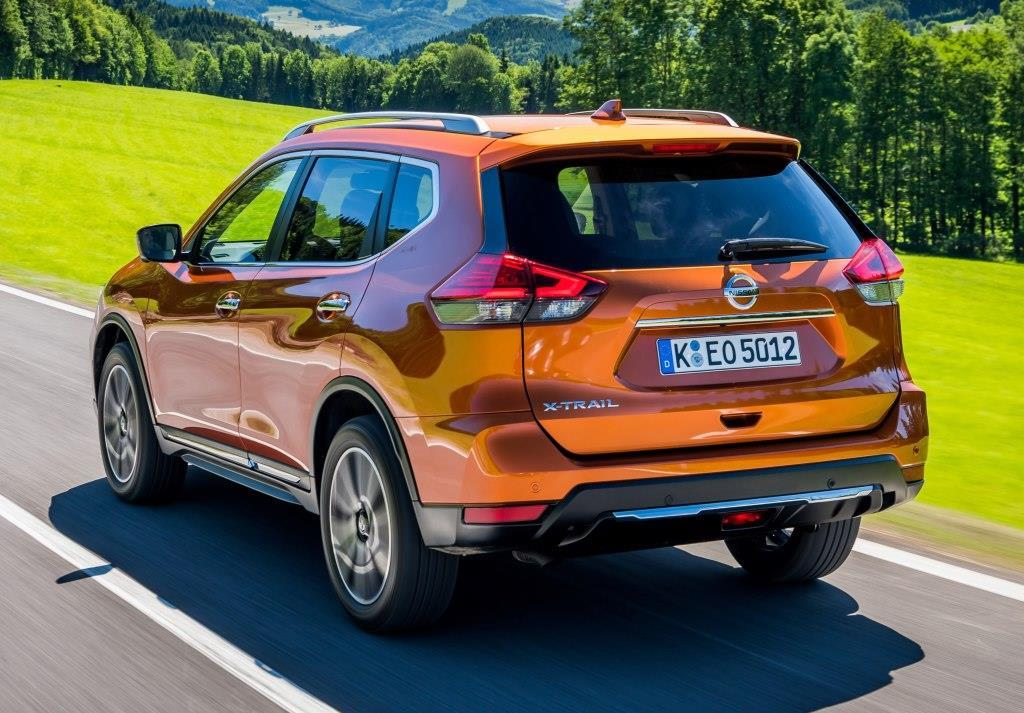 nissan x trail iii im test mj 2018 facelift f r innen und au en. Black Bedroom Furniture Sets. Home Design Ideas