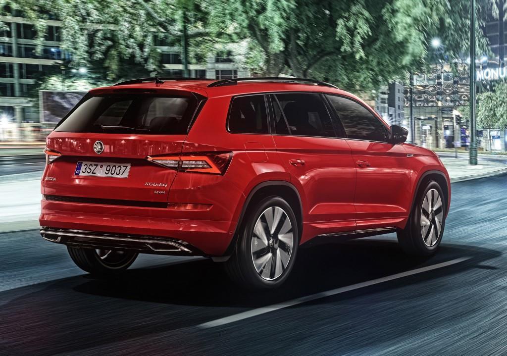 Skoda Kodiaq Sportline (2018): Bestellstart für die SUV ...
