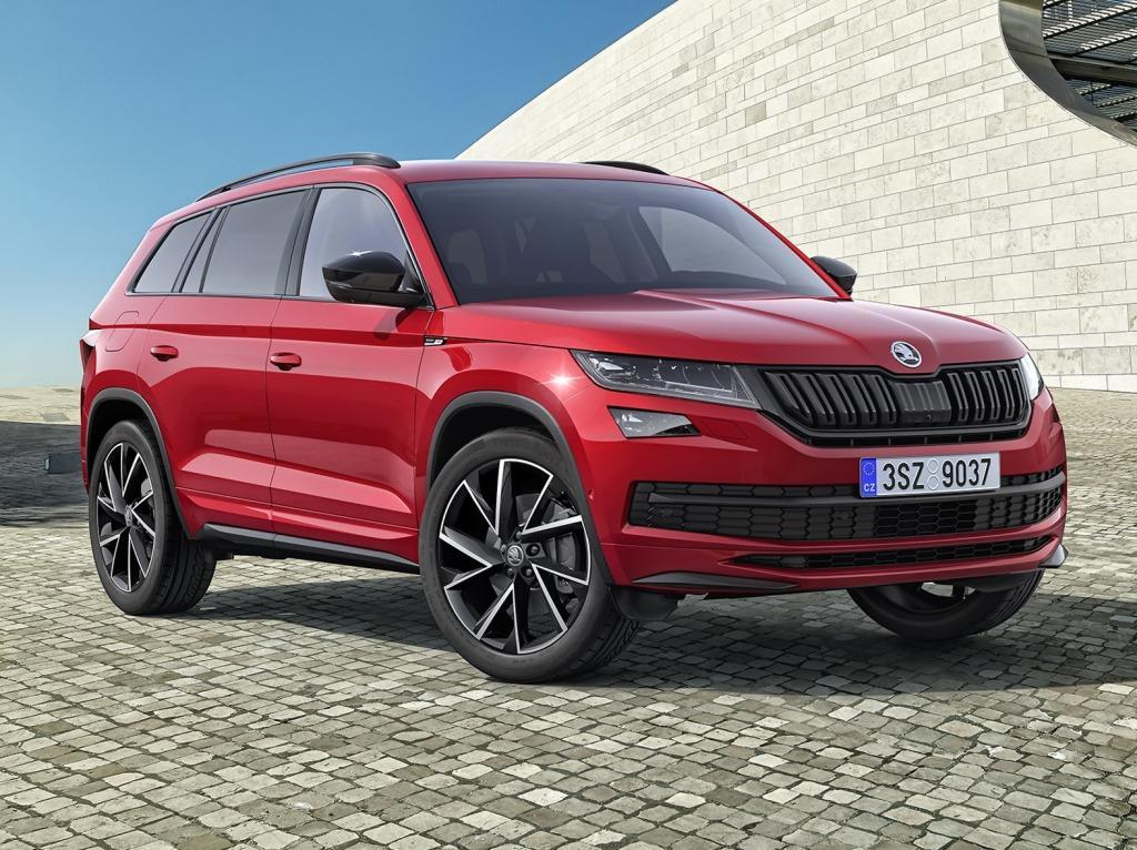 skoda kodiaq sportline 2018 bestellstart f r die suv variante. Black Bedroom Furniture Sets. Home Design Ideas