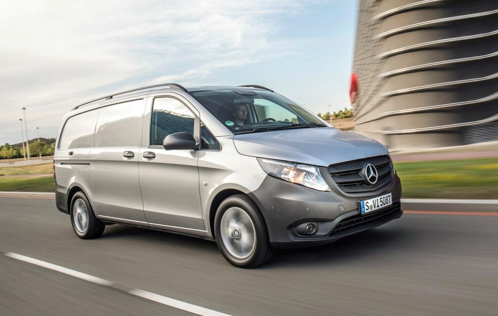 mercedes vito kastenwagen im test 2018 so kommt leben. Black Bedroom Furniture Sets. Home Design Ideas