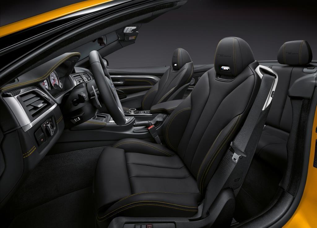 bmw m4 cabrio 2018 sondermodell f r 30 jahre. Black Bedroom Furniture Sets. Home Design Ideas