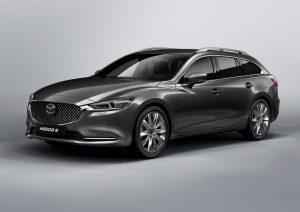 Mazda 6 Kombi mit Facelift für 2018