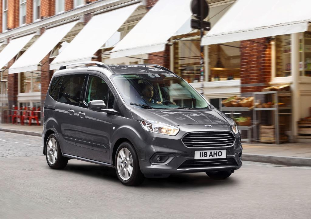 Ford Tourneo Courier im Test (2018): kompakten ...