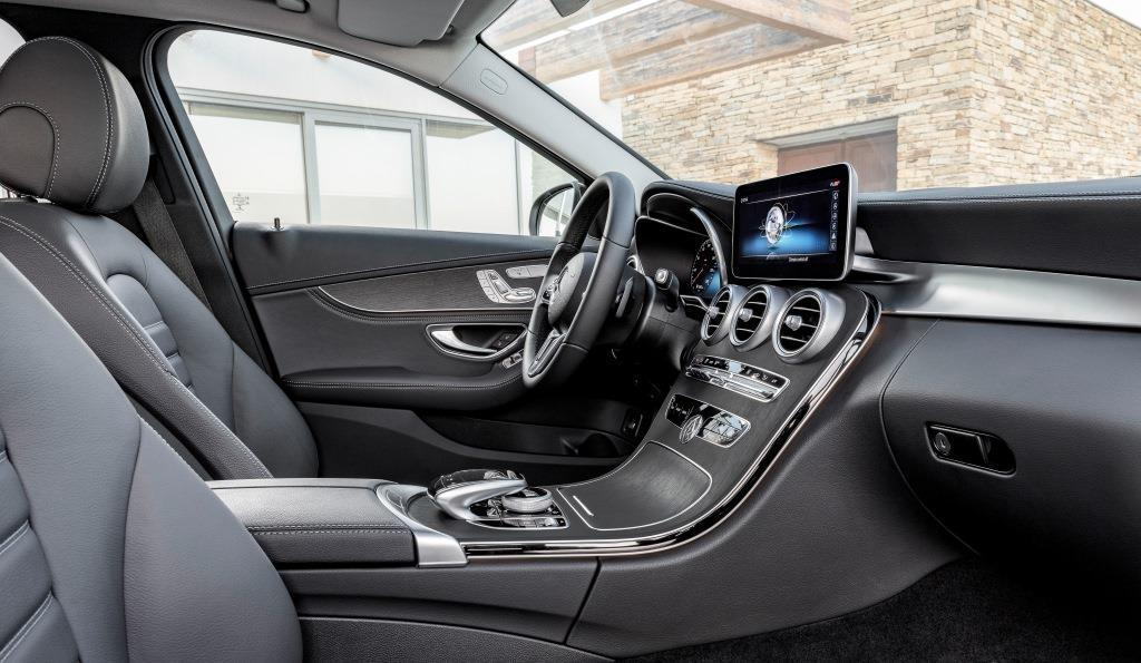 mercedes c klasse t modell im test 2018 eine facelift. Black Bedroom Furniture Sets. Home Design Ideas