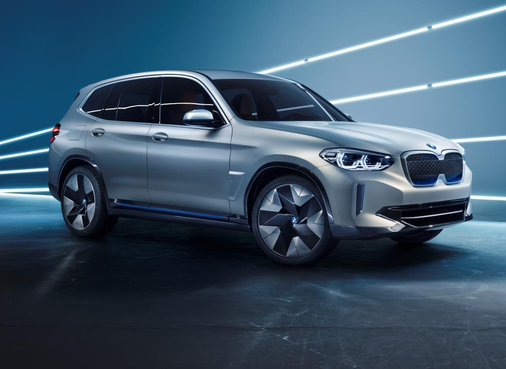 BMW Concept iX3 (2018): Der BMW X3 als Elektroauto ...