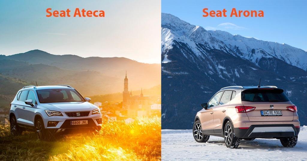seat arona vs. seat ateca (2018): welches suv passt zu welchem zweck