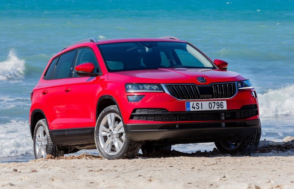 skoda karoq im test 2018 vergleich zum kodiaq ateca und yeti. Black Bedroom Furniture Sets. Home Design Ideas