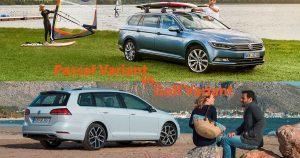 VW Golf Variant oder VW Passat Variant (2018): Welcher ist der bessere Kombi?