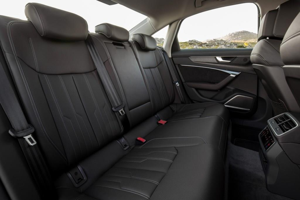 audi a6 limousine im test 2018 was kann die neue 5. Black Bedroom Furniture Sets. Home Design Ideas