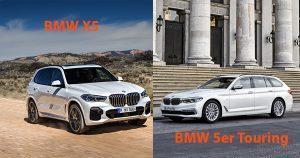 BMW 5er Touring oder BMW X5: brisantes Stallduell in der oberen Mittelklasse