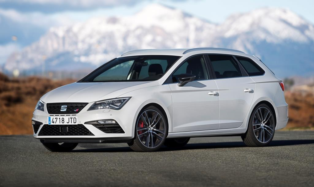 seat leon st cupra 2018 test preise und bilder. Black Bedroom Furniture Sets. Home Design Ideas