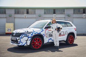 Skoda Kodiaq RS: Bilder und Video vom Nürburgring