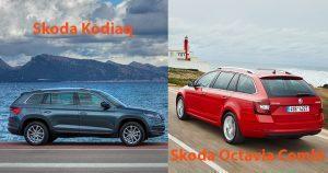 Skoda Kodiaq oder Octavia Combi? Wir vergleichen Kombi und SUV (2018)