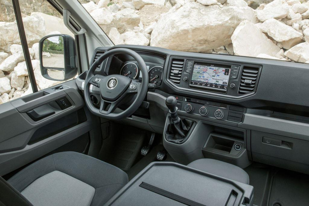 vw crafter kastenwagen ii im test 2018 was kann der transporter. Black Bedroom Furniture Sets. Home Design Ideas
