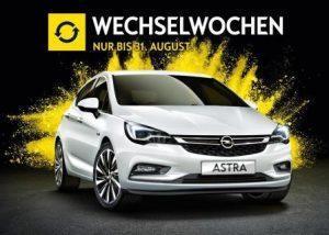 Opel Wechselwochen: Angebote mit bis zu 4.000 Euro Prämie