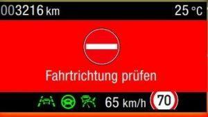 ford-fahrtrichtung-anzeige