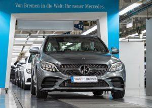 Mercedes-Benz C-Klasse (2018): Produktionsstart in Bremen
