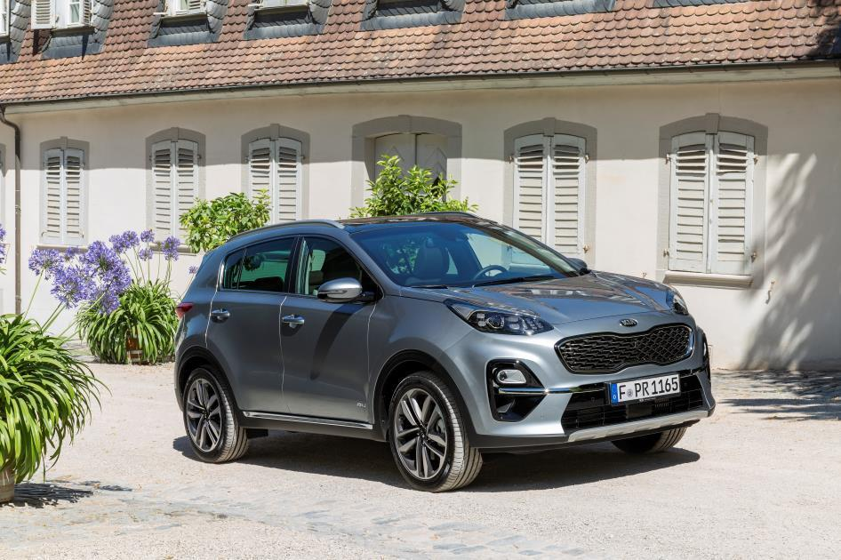 kia sportage hybrid 2019 im test wie viel hybrid steckt. Black Bedroom Furniture Sets. Home Design Ideas