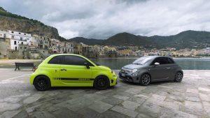 Abarth 595: Neue Modelle auf der Targa Florio