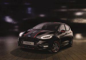 Ford Fiesta ST-Line: Sondermodell Red und Black erhältlich