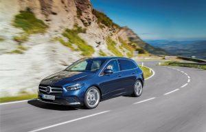 Mercedes B-Klasse: Erste Fahrzeuge im Februar 2019