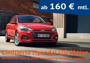 hyundai i20 all inclusive leasing ab 135. Black Bedroom Furniture Sets. Home Design Ideas