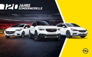 """Opel: Angrillen mit den Sondermodellen """"120 Jahre"""""""