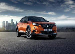Peugeot 2008: SUV mit vollelektrischer Version