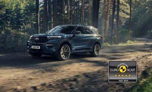 Ford Explorer: Hybrid erhält maximale NCAP-Bewertung
