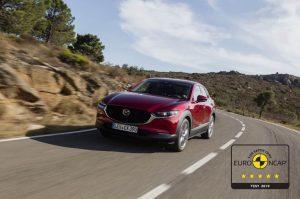 Mazda CX-30: Höchstwertungen beim Euro NCAP