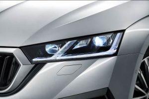 Skoda: Maximale Sicherheit durch neue LED-Scheinwerfer