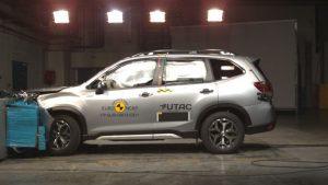 Subaru Forester: Fünf Sterne im Euro NCAP-Crashtest