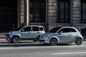 Fiat: Hybrid-Versionen des Fiat 500 und Fiat Panda