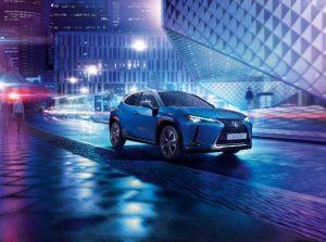Lexus UX 300e: Erstes Elektrofahrzeug der Marke