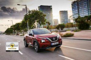 Nissan Juke: Fünf Sterne im NCAP Crashtest