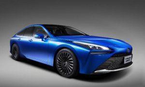 Toyota Mirai: Das Konzeptfahrzeug zur neuen Brennstoffzellenlimousine