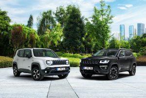 Jeep: Neue Plug-in Hybrid-Modelle für Renegade und Compass 4xe